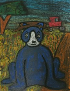 blue dog for depression